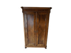 Handmade Cabinet, Made Of Solid Wood, Floral Carvings