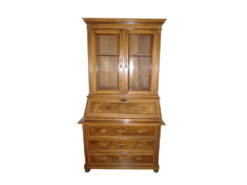 Handmade Antique Secretary, Made Of Solid Wood