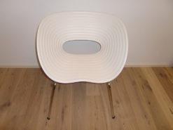 4 White Tom Vac Designer Chairs, Model: Ron Arad