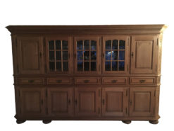 Large Vintage Living Room Cabinet, Country Style