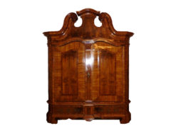 Exclusive Cabinet From The 18. Century, Solid Walnut Wood