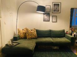 Green Designer Corner Couch, BoConcept