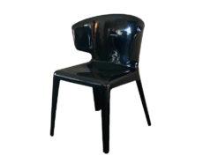 Black Designer Chairs, Hola Sprint, Hannes Wettstein