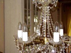 Classic Chandelier, Bohemia Crystal