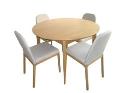 Designer Dining Room Table And 4 Chairs, habitat