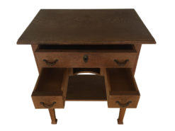 Side Tabe, Made Of Solid Wood, Perfect Condition, Midcentury