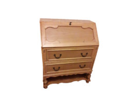 Antique Secretary, Made Of Solid Wood