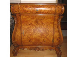 Antique Commode With a Drawer, Inlayd Work