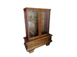 Antique Display Cabinet, 1930, Solid Wood, Perfect Condition