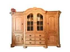 Living Room Cabinet, Solid Oakwood, Vintage