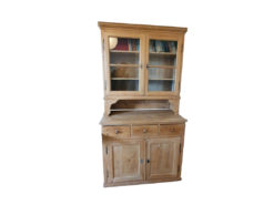 Antique Display Cabinet, Solid Wood, Good Condition