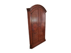 Corner Cabinet, Solid Wood, Mirrors Inside