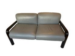 Designer Armchairs And Bench, Dark Grey, Knoll International