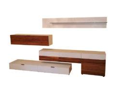 Holtkamp Invito Living Room Furniture Set, Walnut Wood