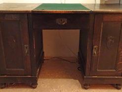 Antique Desk, 1922, Made of Solid Wood