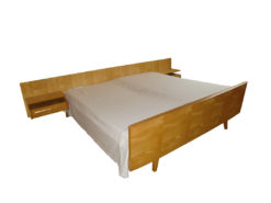 Complete Bedroom Furniture Set, Made of Solid Wood