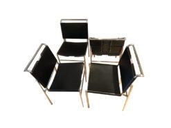 4 Eileen Gray Designer Chairs, ClassiCon, Type Roquebrune