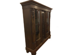 Antique Cabinet, Made of Dard Solid Wood, 1920