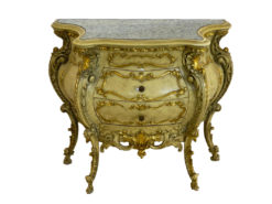 Antique Commode With 2 Drawers, Baroque-Style