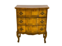 Antique Chest of Drawers, Made Of Solid Wood, Inlays