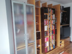 Open Shelf Cabinet Wall With Special Fittings From Hertel Furniture