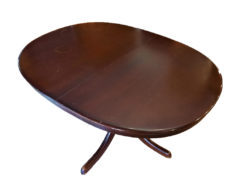 Dining Room Table, Solid Wood, Vintage, 70s
