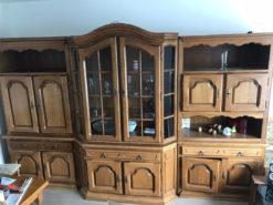 Living Room Wall Unit, Solid Wood