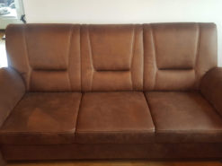 Brown Leather Sofa, Armchair, 2-Seater, 3-Seater