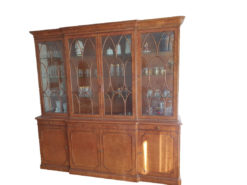 Living Room Display Cabinet, Solid Wood