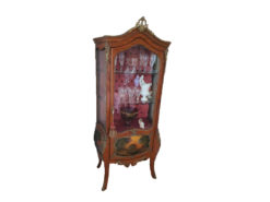 Display Cabinet, Solid Wood, Baroque