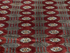 Xtra-Persian Carpet, Brown-Rust, Hand-knotted