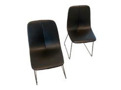 By Si Chair, Bonaldo Arredamenti, Black