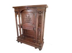 Gründerzeit-Cabinet, 1870, France, Solid Waltnut Wood