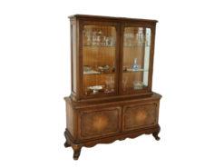 Antique Display Cabinet, Gründerzeit, Solid Wood