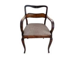 Antique Armchair, Gründerzeit, Solid Wood