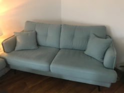 2 Big Sofas, Gutmann Factory, Ice Blue