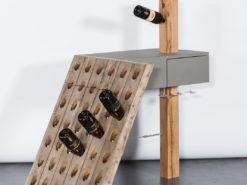 Wine Rack / Presentation Table, Journeyman's Piece From 2019