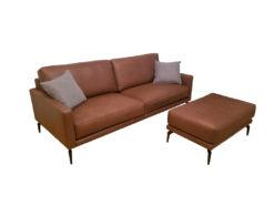 Contur Cuneo 60, Designer Sofa With Matching Stool