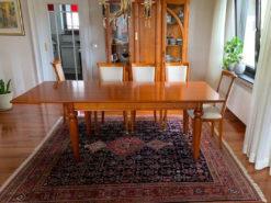 Dining Room Table, Cherry Tree Wood, Vintage