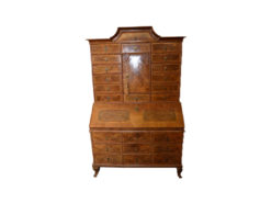 Antique Apothecary Cabinet, Solid Wood
