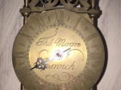English Wall Clock, Vintage, 1960s