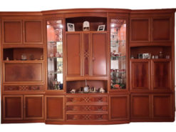 Living Room Cabinets, Cherry Tree, incl. TV