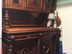 Gründerzeit Furniture Set: Cabinet And Desk