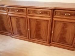Designer Sideboard, Vintage, Solid Wood