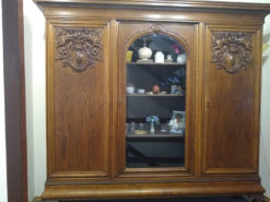 Antique Display Cabinet, Solid Wood