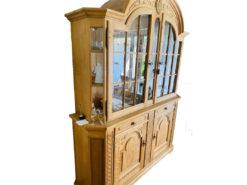 Display Cabinet, Oakwood, Midcentury