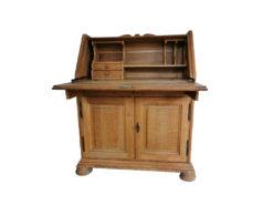 Secretary, Solid Oak Wood