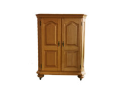 Multimedia Cabinet, Made Of Solid Wood
