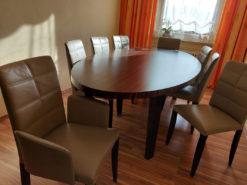 Designer Dining Table, 8 Designer Chairs