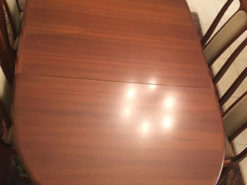 Extendable Dining Room Table, Solid Wood